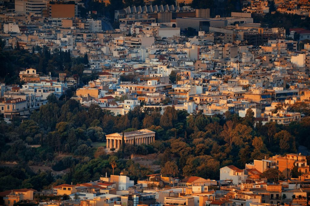 Hans Christian Andersen in Athens 1